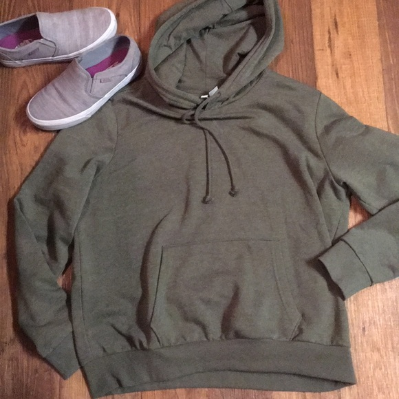 H&M Sweaters | M Hm Pullover Hoodie | Poshmark
